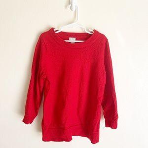 J Crew Boy's 100% Wool Crewneck Sweater, Size L